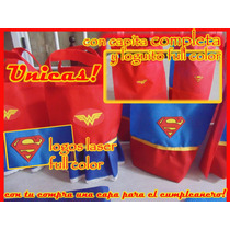 Bolsitas De Superma, La Mujher Maravilla Unicas