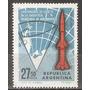 Argentina Gj 1349 Lanzamiento Cohetes Antártida Ae 112 A1966