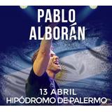 Entradas Pablo Alboran Campo Hipo Palermo (envio Sin Cargo)