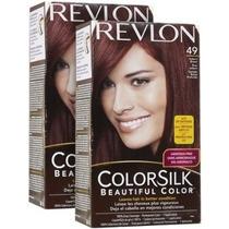 Revlon Colorsilk N 49 Castaño Rojizo C/caja V Beautyshop