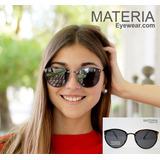 a2686d58cc Lente De Sol Anteojos Sol Mujer Materia Eyewear Mts-923