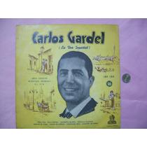 Disco Carlos Gardel Vinilo 33 1/3 Sin Probar Muy Raro