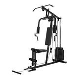 Multigimnasio Gym Espalda Piernas Incluye Pesas 50kg Av1011
