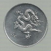 Liberia 5 Cents Año 2000 Km 474 S/circular Numismavellaneda