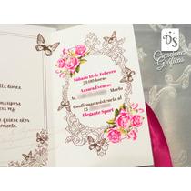 Tarjetas Invitaciones 15 Años Paris Princesa En Venta En