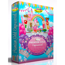 Kit Imprimible Premium Gold Empresarial Patrones - Candy Bar
