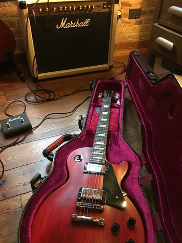 Guitarra Gibson Les Paul Studio Cherry Usa Estuche Y Papeles