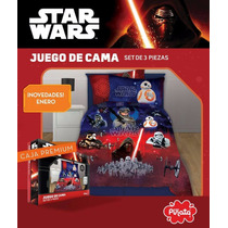 Juego De Sabanas Piñata Star Wars Edición Especial