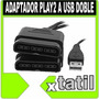 Adaptador Para Joystick De Ps2 Playstation 2 A Pc Usb Doble