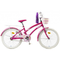 Bicicleta Olmo Tiny Dancers Rodado 20 Nena Rosa