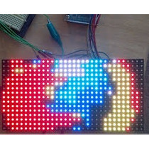 Módulo Pantalla Led P10 Rgb Dip 3en1 16x32cm - 512 Pixel Led