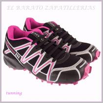 Zapatillas Para Dama Tuning Tipo Zalomon