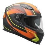 Casco Moto Integral Doble Visor Vega Rs1