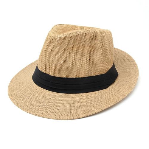 Sombrero Hombre Estilo Panama Golf Playa 7a4140cb3070