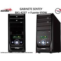 Gabinete Sentey Bx1-4237 Display Atx Lcd Con Fuente 650w