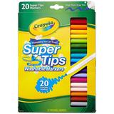 Marcadores Crayola 20 Unidades Super Tips