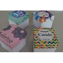 Cajitas, Cajas De Papel, Souvenirs, Tarjetas X 10 Unidades