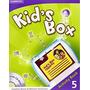 Libro De Ingles Kids Box 5 Activity Book + Cd Rom Cambridge