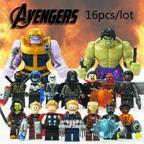 Sy1060 Avengers Infinity War Set X 16 Mini Figuras Thanos