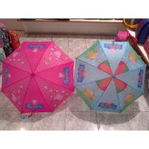 Paraguas Infantil Peppa Pig Licencia Original