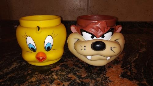 Tazas Looney Toons Colección (originales De Los 90s) $ X2