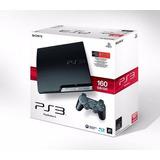Playstation 3 Slim Sony 160gb Joystick Canje Playstation 2