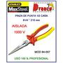 Alicate Stanley 1/2 Caña Aislado 1000 V ( 8 ) Max Steel