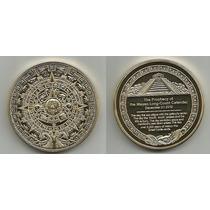 3 Monedas De Coleccion Del Imperio Maya 2012