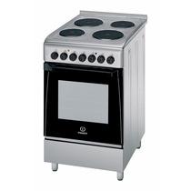 Cocina Indesit Kn3e51 X Acero 50 Cm 100% Electrica