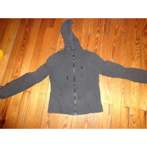 Campera Ted Bodin Talle 40. Gris De Mujer
