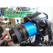 Adaptador Macro Para Nikon Hecho Con Impresora 3d