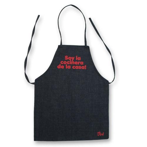 Delantales de cocina para ni os de 1 a 6 a os son de jean for Delantales para ninos cocina