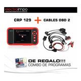 Escaner Automotriz Launch Creader Crp129 Pro + Cables Autos