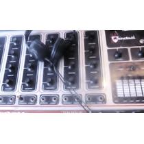 Consola De Sonido Para Estadios Randall Funcionando