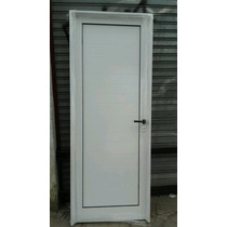 Aberturas puertas exteriores aluminio de abrir con los for Precio puerta aluminio blanco exterior
