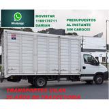 Mudanzas Economicas Y Fletes Al Interior $35por Km Camion