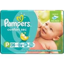 Oferta: Nuevos Pañales Pampers Confort Secpequeñox30 Unid.