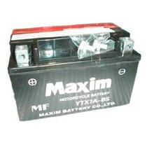 Bateria Ytx7a Bs Maxim Zanella Rx 150 / Vx 150 Panella Motos
