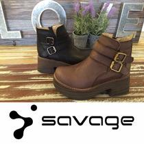 Savage Zapatos. Borcegos. Directo De Fabrica. Sofi 50