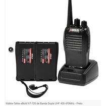 Walkie-talkie Ebold Wt-720 Uhf 400-470mhz. Caseros
