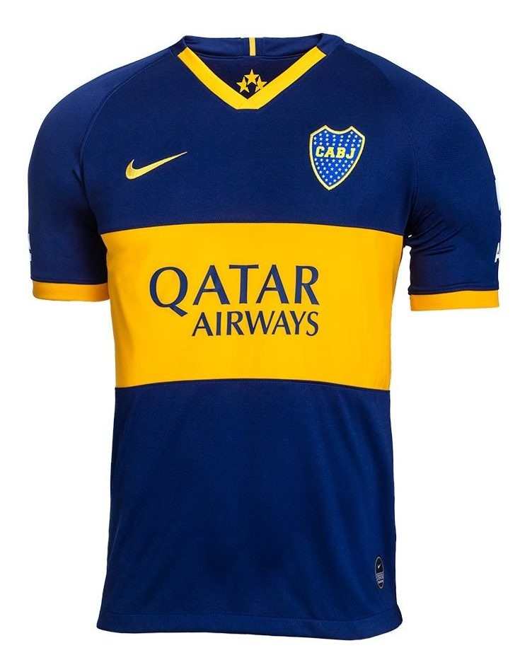 Camiseta Oficial Nike Boca 2019/20 Stadium Niño 2021664