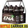 Bottle Carrier Ena X 6 Caramañolas Deportivas Para Bebidas