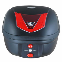 Baul Para Moto Coocase Ls2 Vivo 28l Basic Capacidad Un Casco
