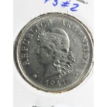 Moneda Argentina 50 Centavos 1941 Ref C35