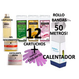 Kit Calentador Roll-on Arcametal+ 12 Cartuchos L+ Kit