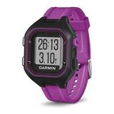 Reloj Garmin Forerunner 25 Purpura Seguimiento Distancia Ti