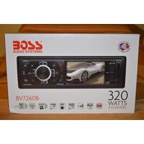 Stereo Boss Audio Systems Bv7260b, Nuevo, Original