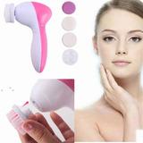 Cepillo Facial Exfoliante Limipieza Masajeador 5 En 1 Cutis