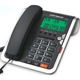 Teléfono Mesa Dti Dtp1200 Manos Libres Callerid Alarma Eps F