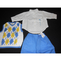 Set X 3 Piezas (the Childrens Place) Talle:0 - 3 Meses. Usa.